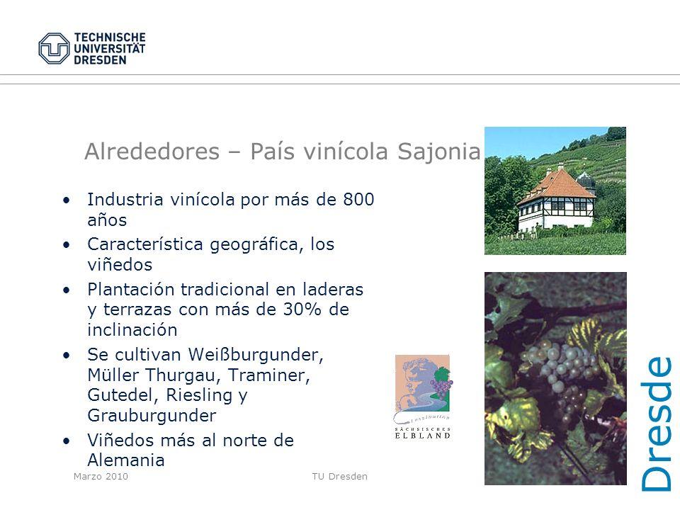 Alrededores – País vinícola Sajonia