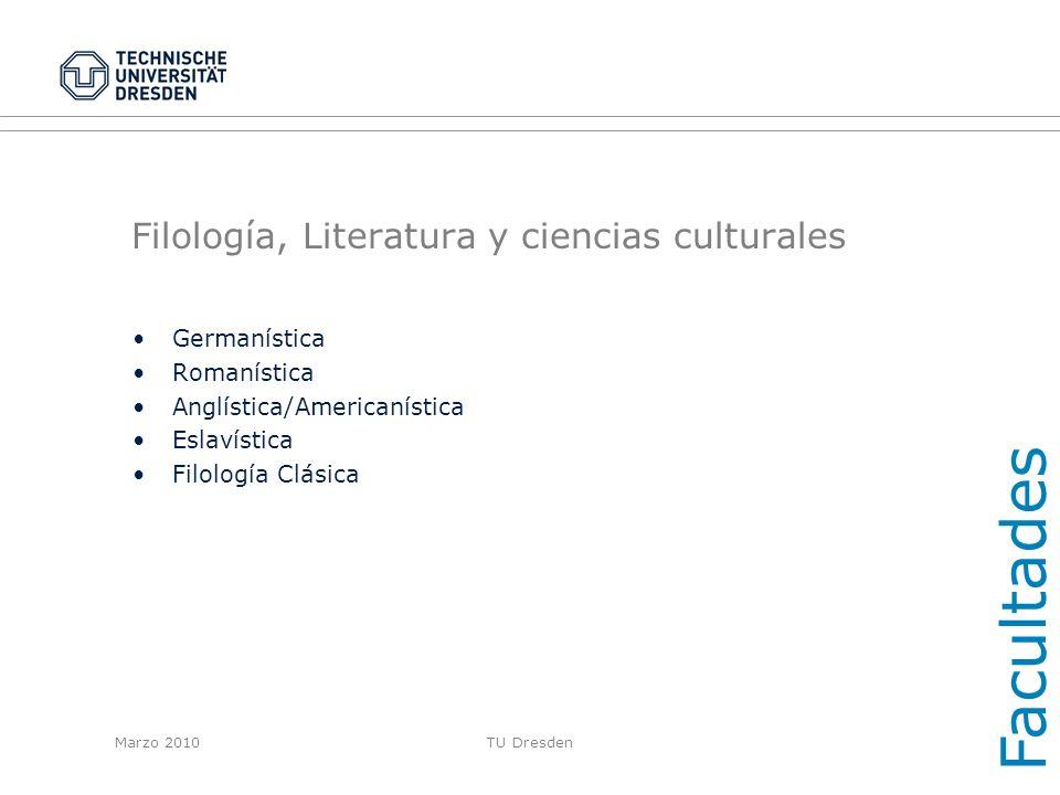 Filología, Literatura y ciencias culturales