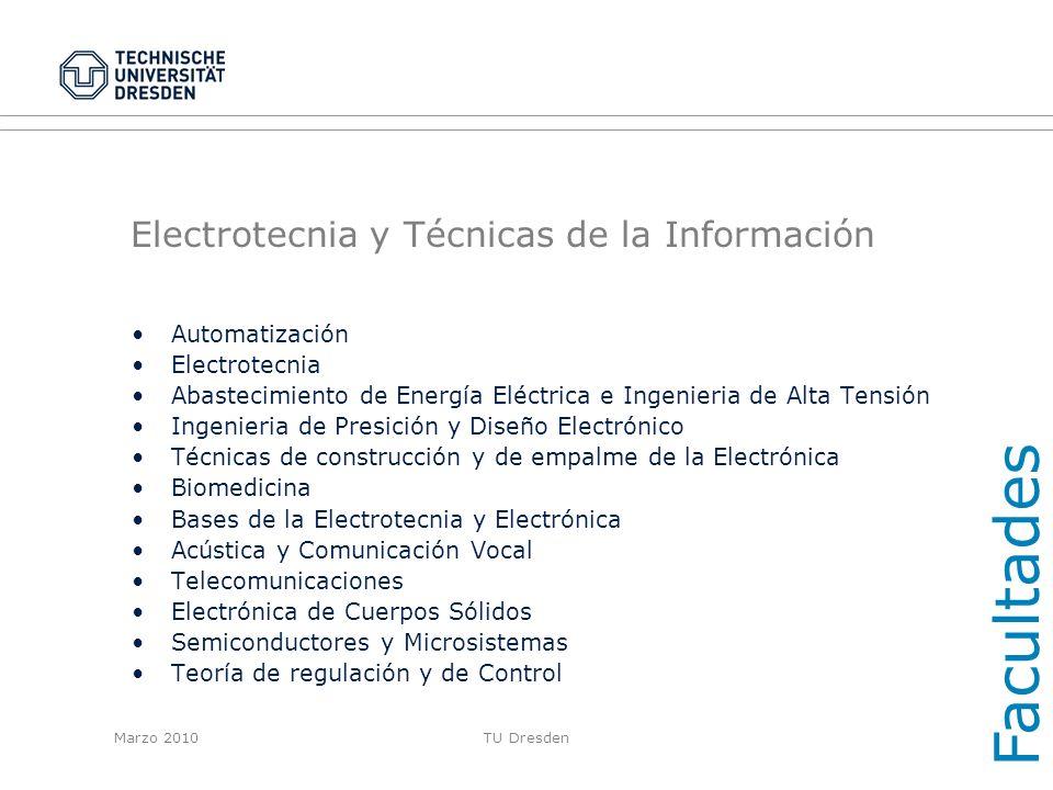 Electrotecnia y Técnicas de la Información