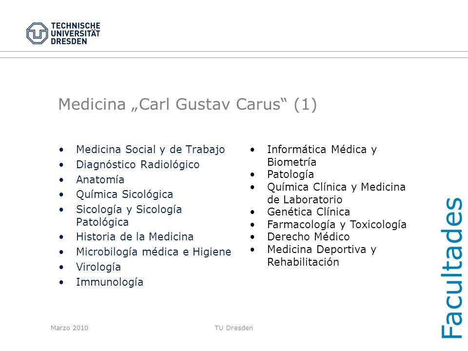 """Medicina """"Carl Gustav Carus (1)"""