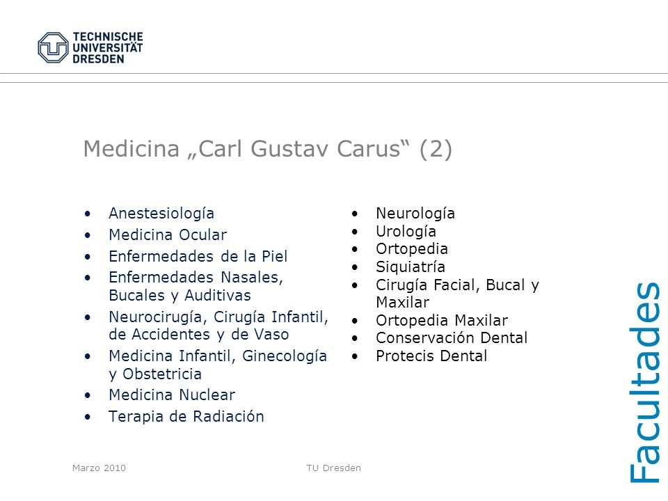 """Medicina """"Carl Gustav Carus (2)"""