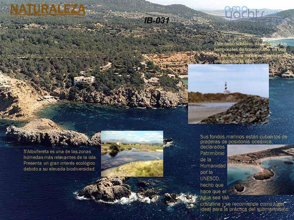 Naturaleza Este cabo solitario, azotado por los temporales de tramontana, es uno de los lugares geológicamente más antiguos de la isla.