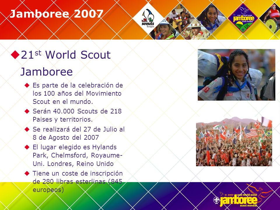 21st World Scout Jamboree