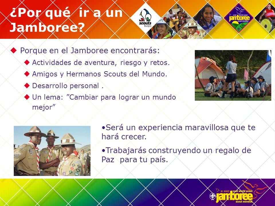 ¿Por qué ir a un Jamboree