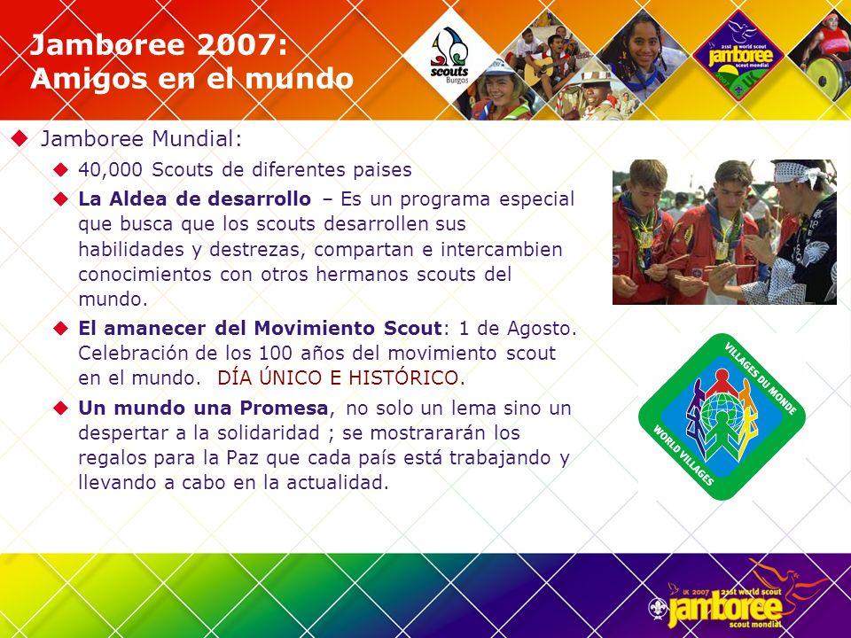 Jamboree 2007: Amigos en el mundo