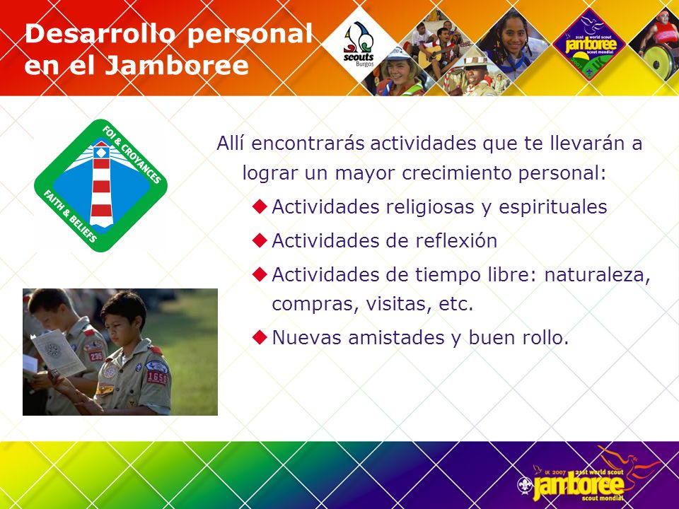 Desarrollo personal en el Jamboree