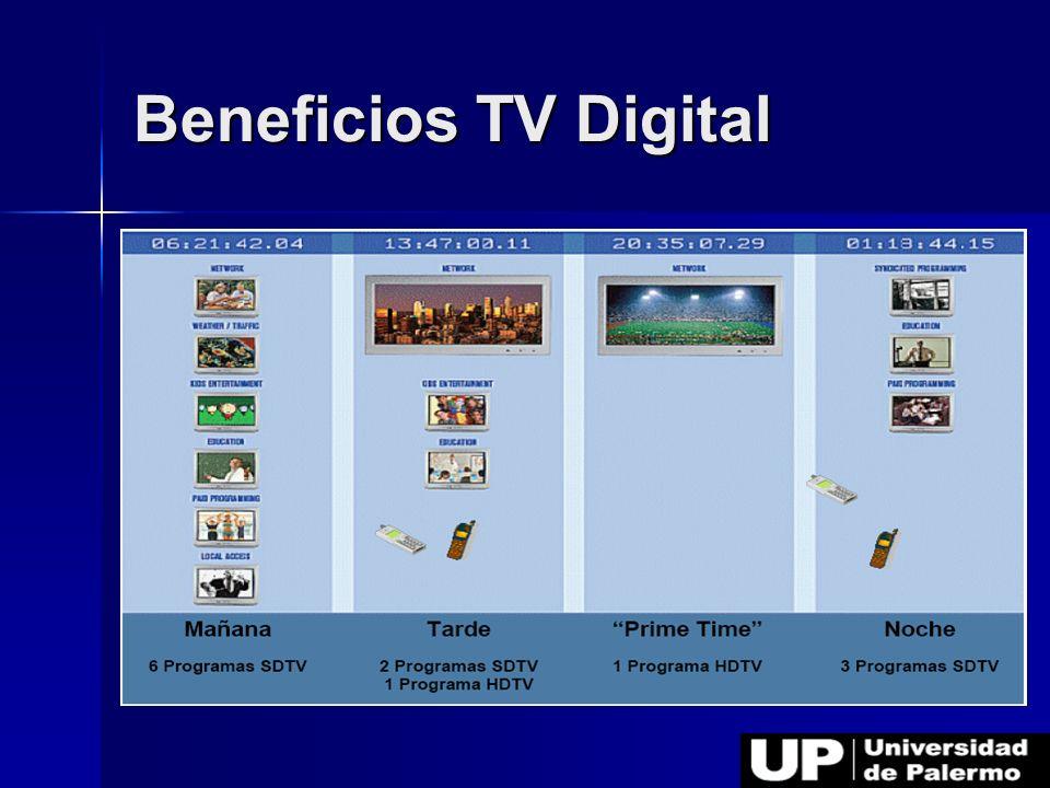 Beneficios TV Digital