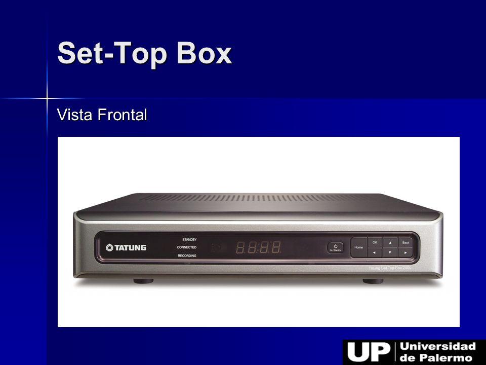 Set-Top Box Vista Frontal