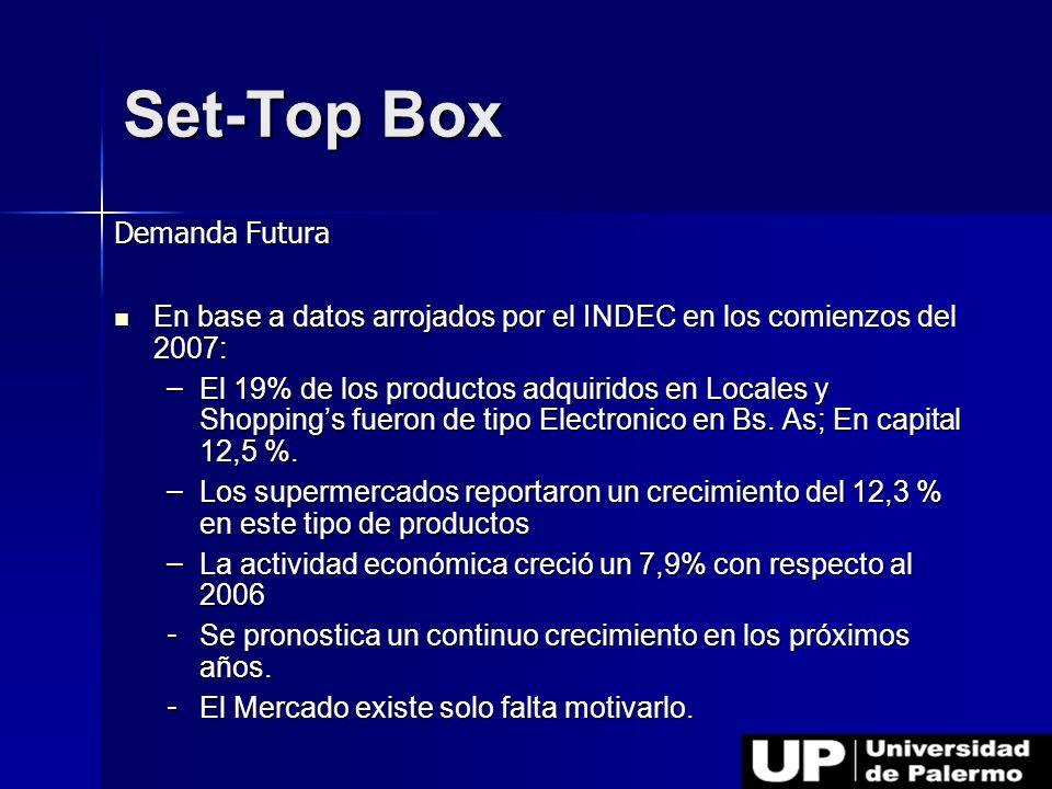 Set-Top Box Demanda Futura