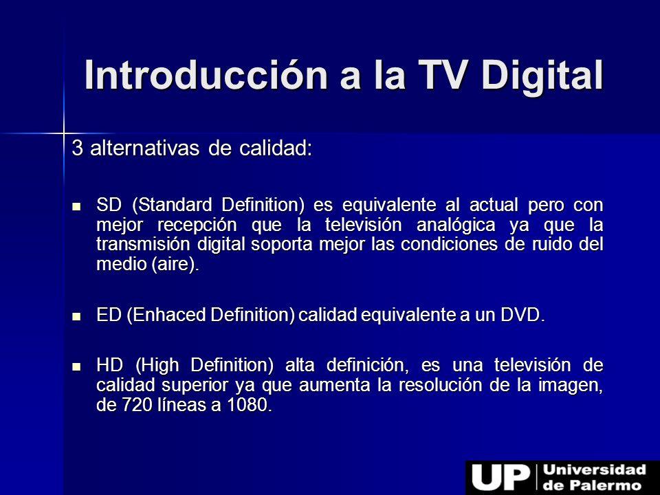 Introducción a la TV Digital