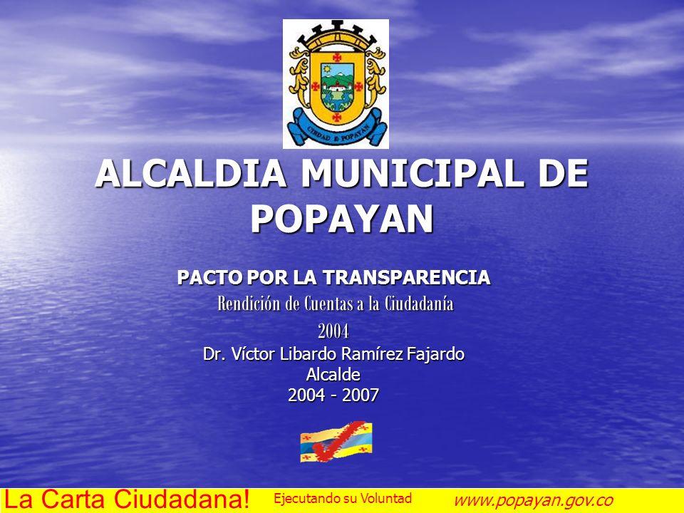 ALCALDIA MUNICIPAL DE POPAYAN
