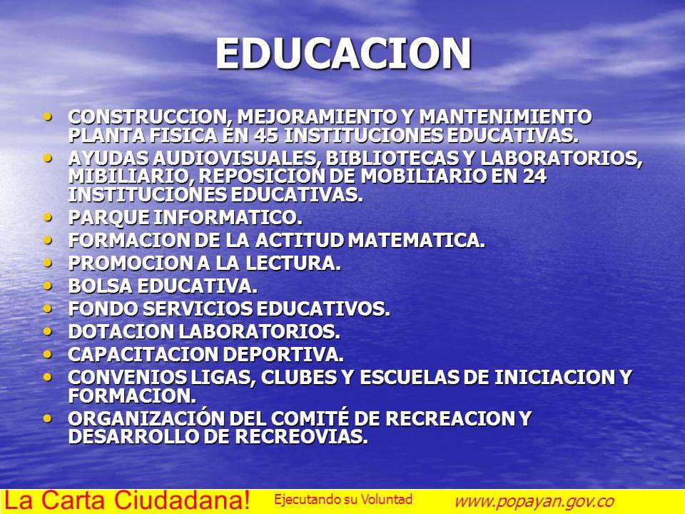 EDUCACION La Carta Ciudadana!
