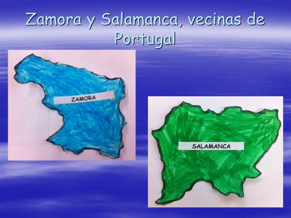 Zamora y Salamanca, vecinas de Portugal