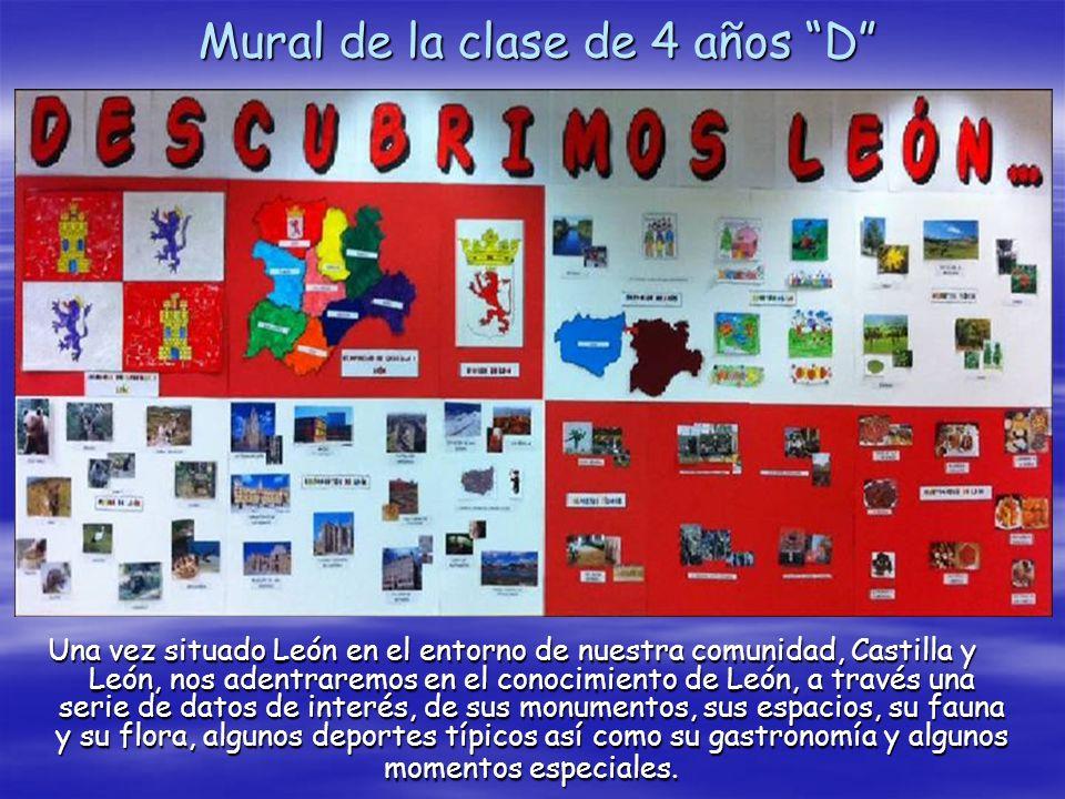 Mural de la clase de 4 años D