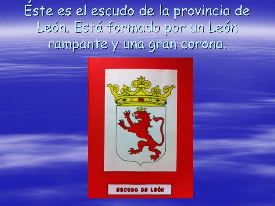 Éste es el escudo de la provincia de León