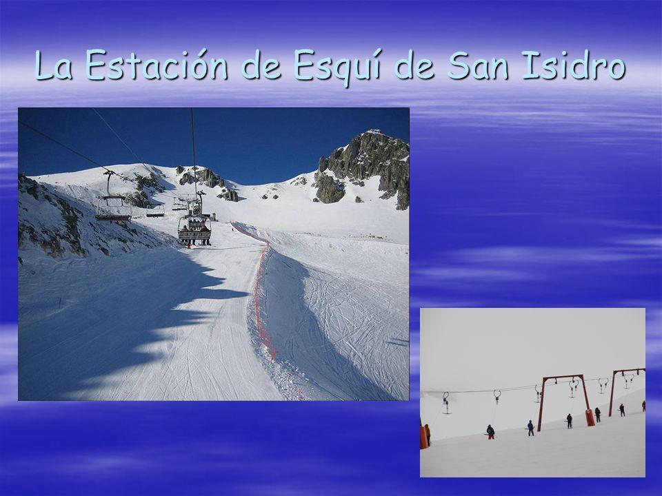 La Estación de Esquí de San Isidro