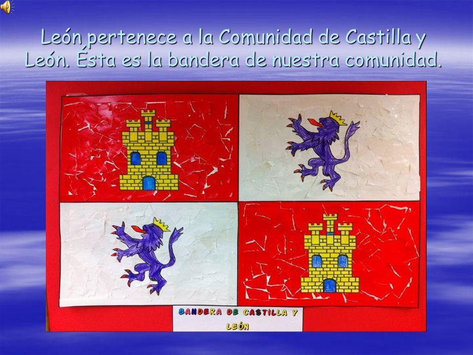 León pertenece a la Comunidad de Castilla y León