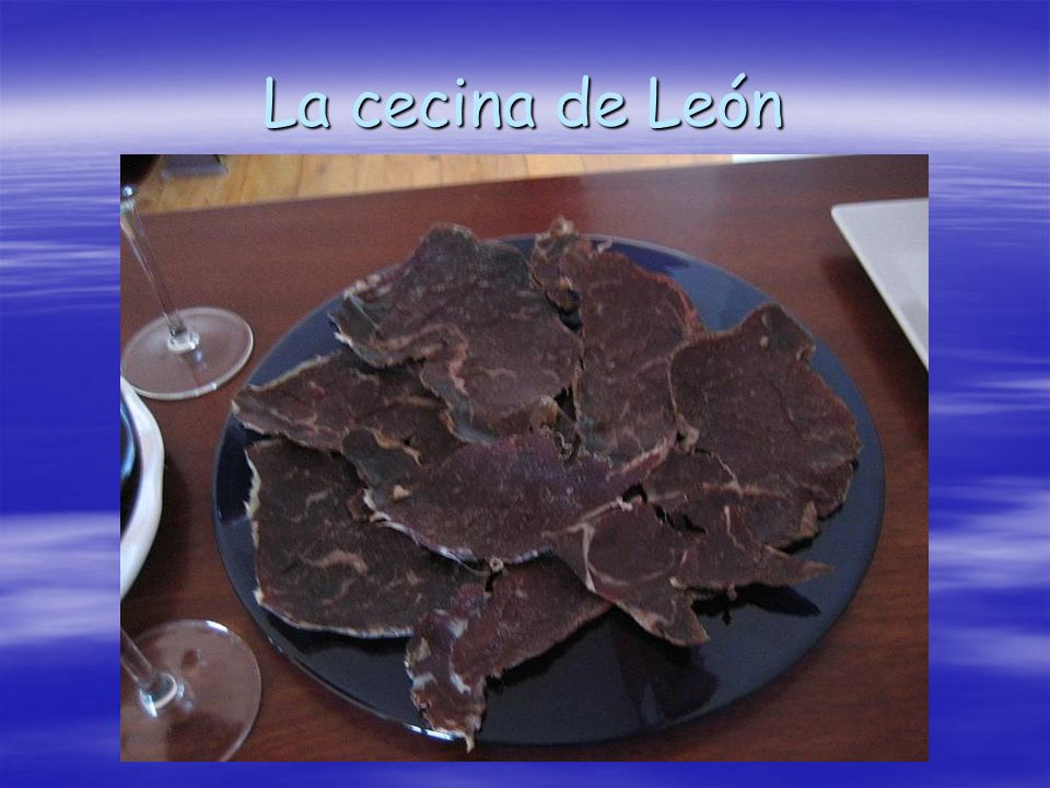 La cecina de León