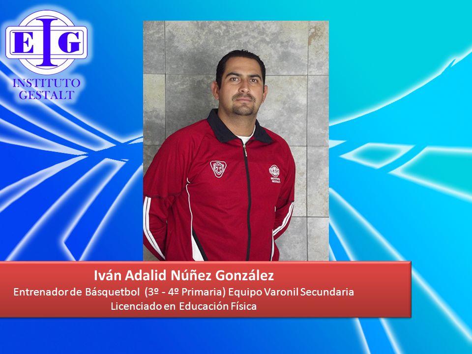 Iván Adalid Núñez González