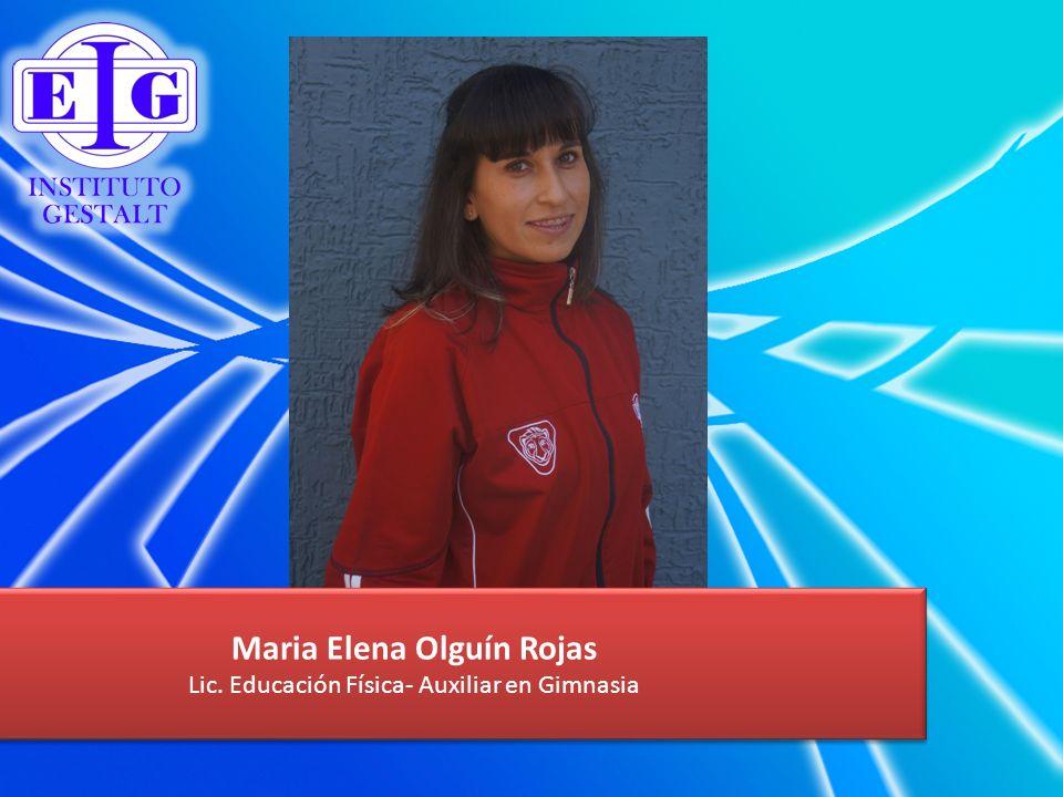 Maria Elena Olguín Rojas