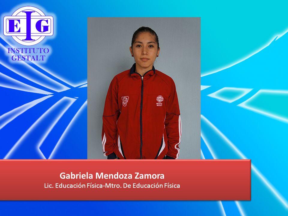 Gabriela Mendoza Zamora
