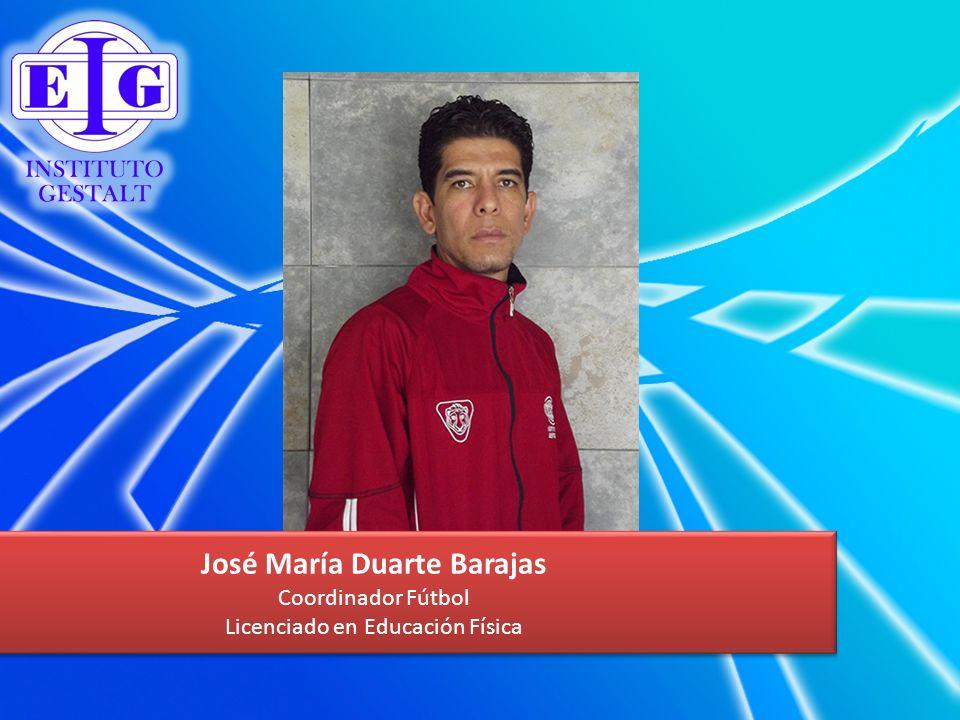 José María Duarte Barajas