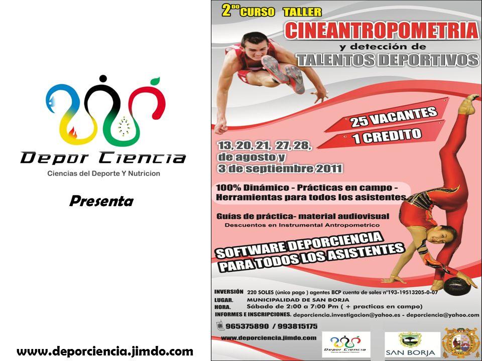 Presenta www.deporciencia.jimdo.com