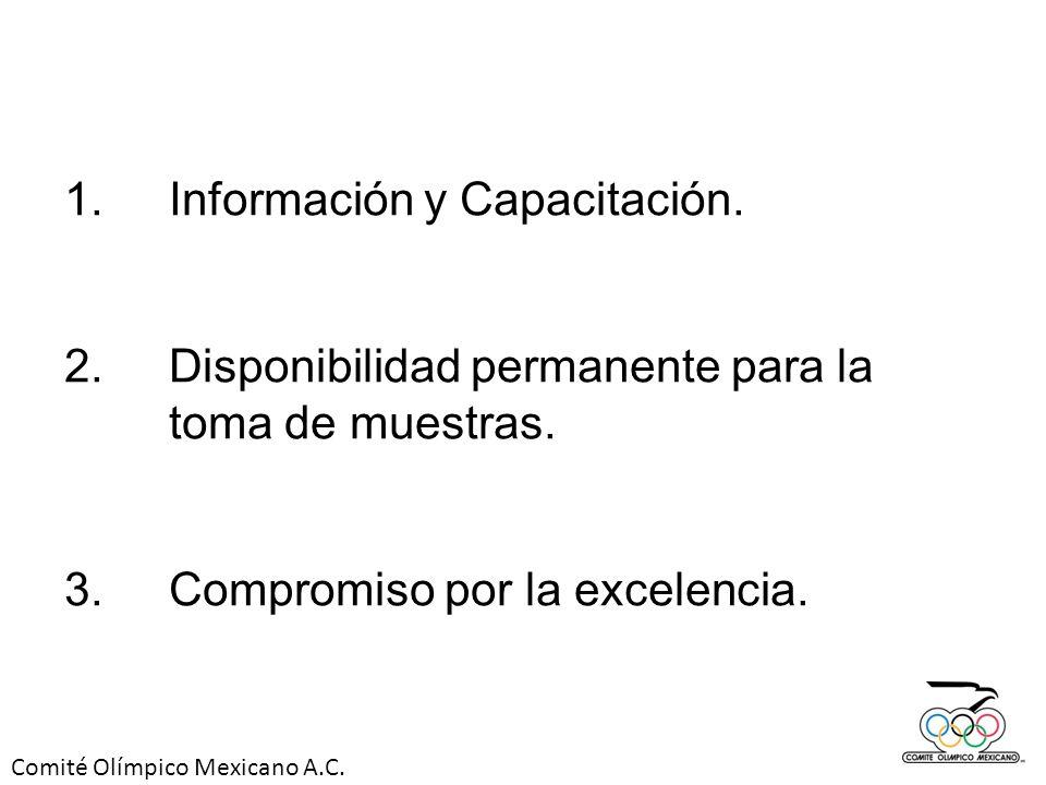1. Información y Capacitación.
