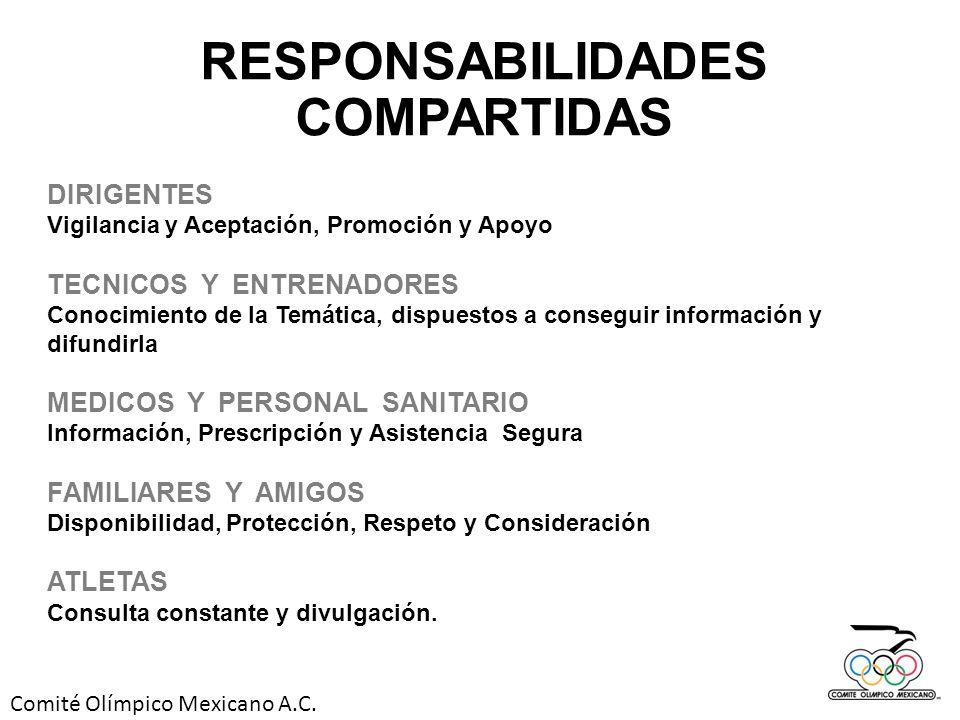 RESPONSABILIDADES COMPARTIDAS