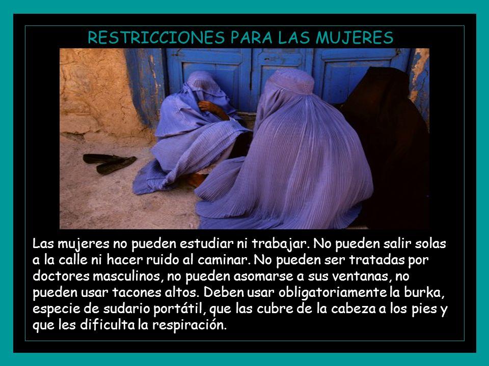 RESTRICCIONES PARA LAS MUJERES