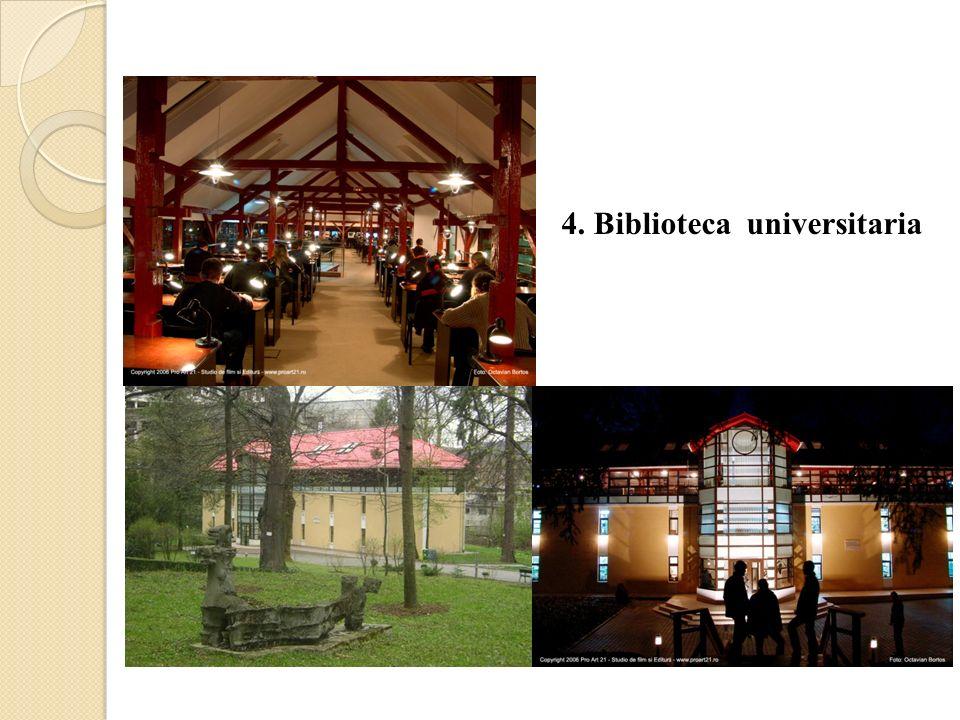 4. Biblioteca universitaria