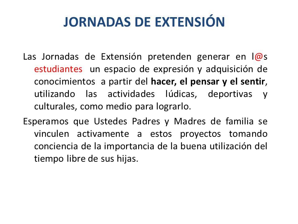 JORNADAS DE EXTENSIÓN