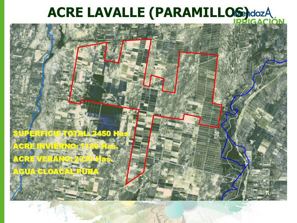 ACRE LAVALLE (PARAMILLOS)