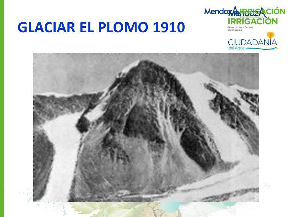 GLACIAR EL PLOMO 1910