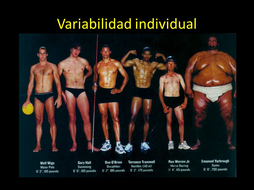 Variabilidad individual