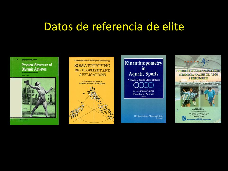 Datos de referencia de elite