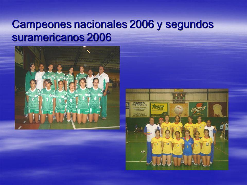 Campeones nacionales 2006 y segundos suramericanos 2006
