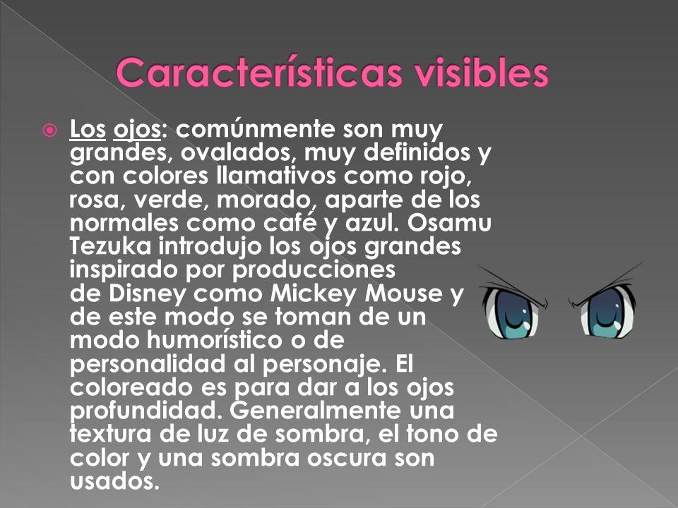 Características visibles