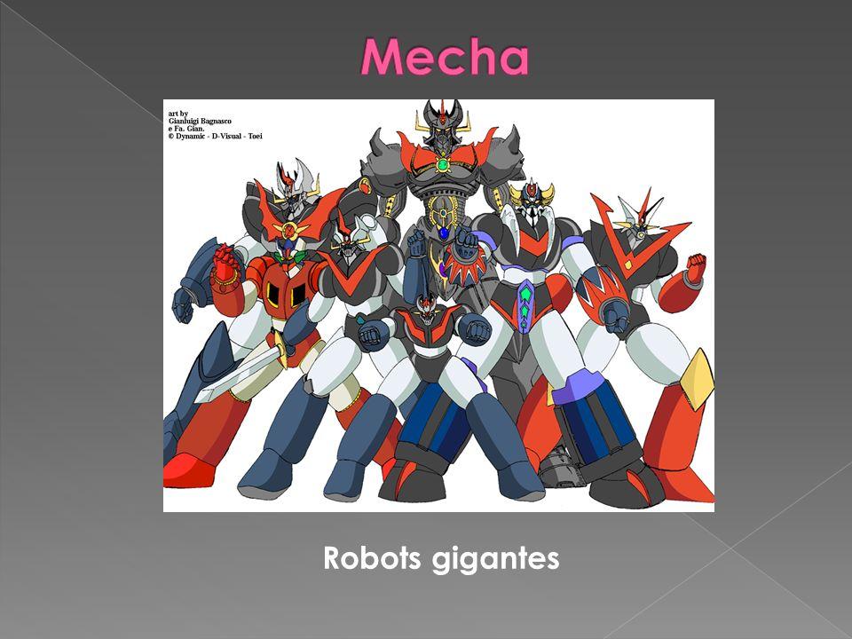 Mecha Robots gigantes