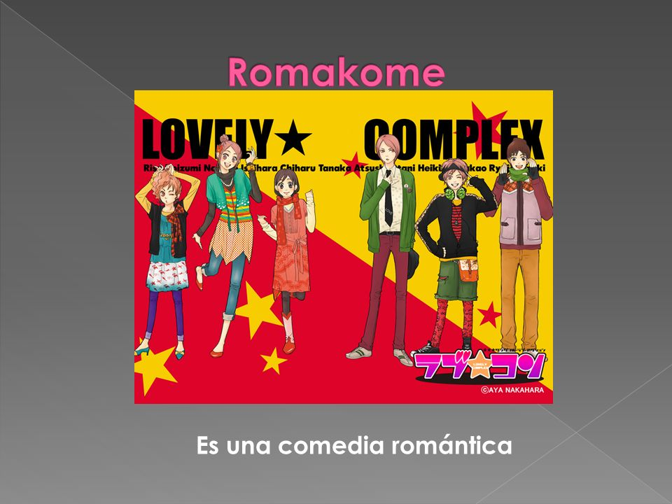 Romakome Es una comedia romántica