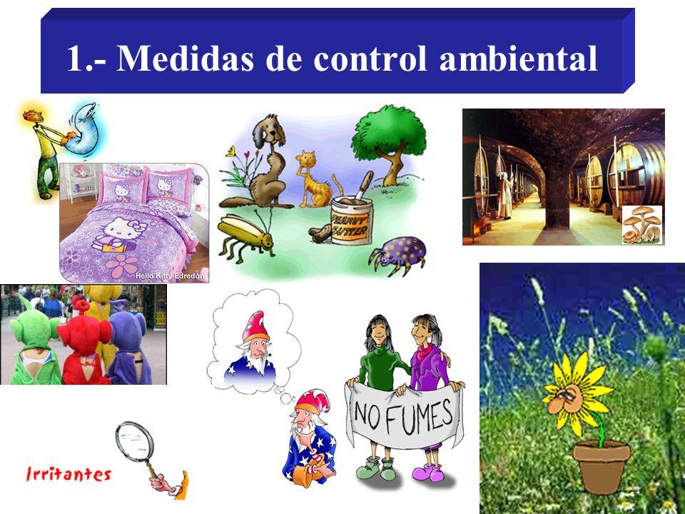 1.- Medidas de control ambiental