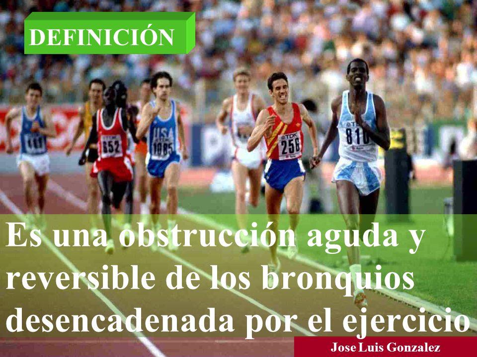 DEFINICIÓN Es una obstrucción aguda y reversible de los bronquios desencadenada por el ejercicio.