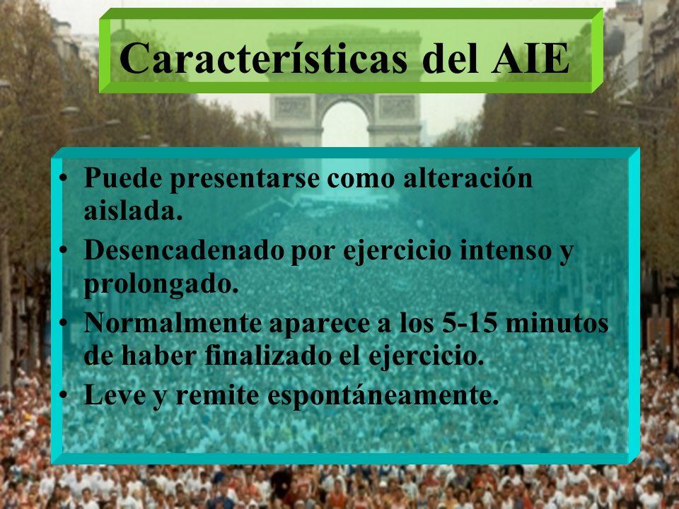 Características del AIE
