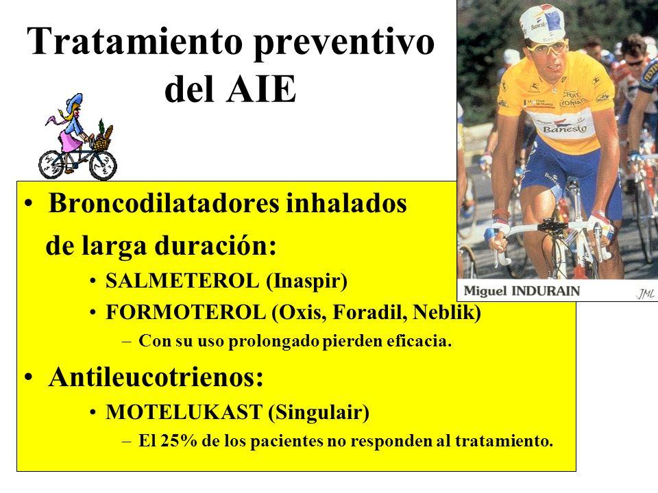 Tratamiento preventivo del AIE