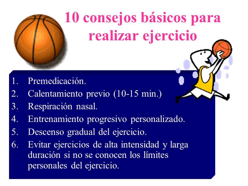10 consejos básicos para realizar ejercicio
