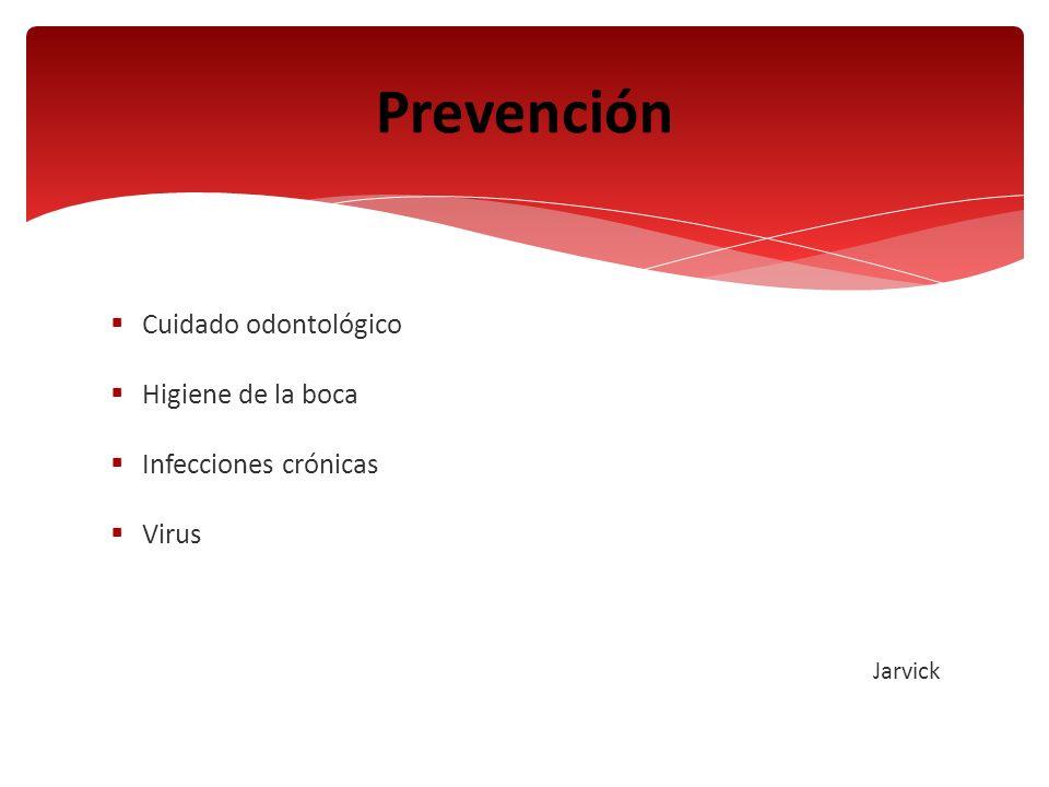 Prevención Cuidado odontológico Higiene de la boca