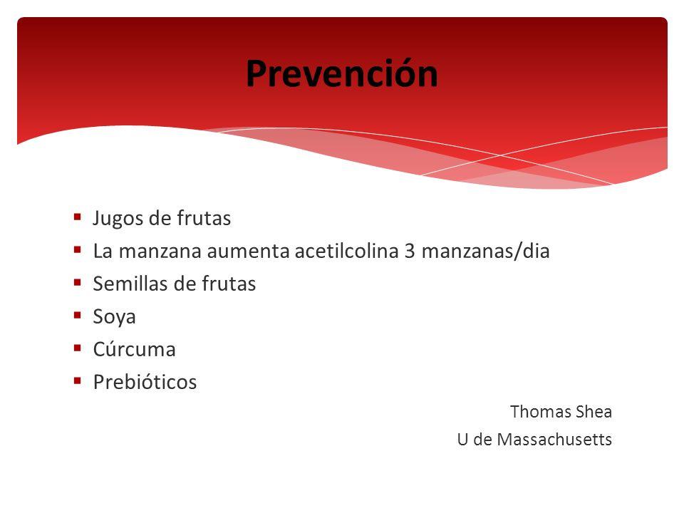 Prevención Jugos de frutas