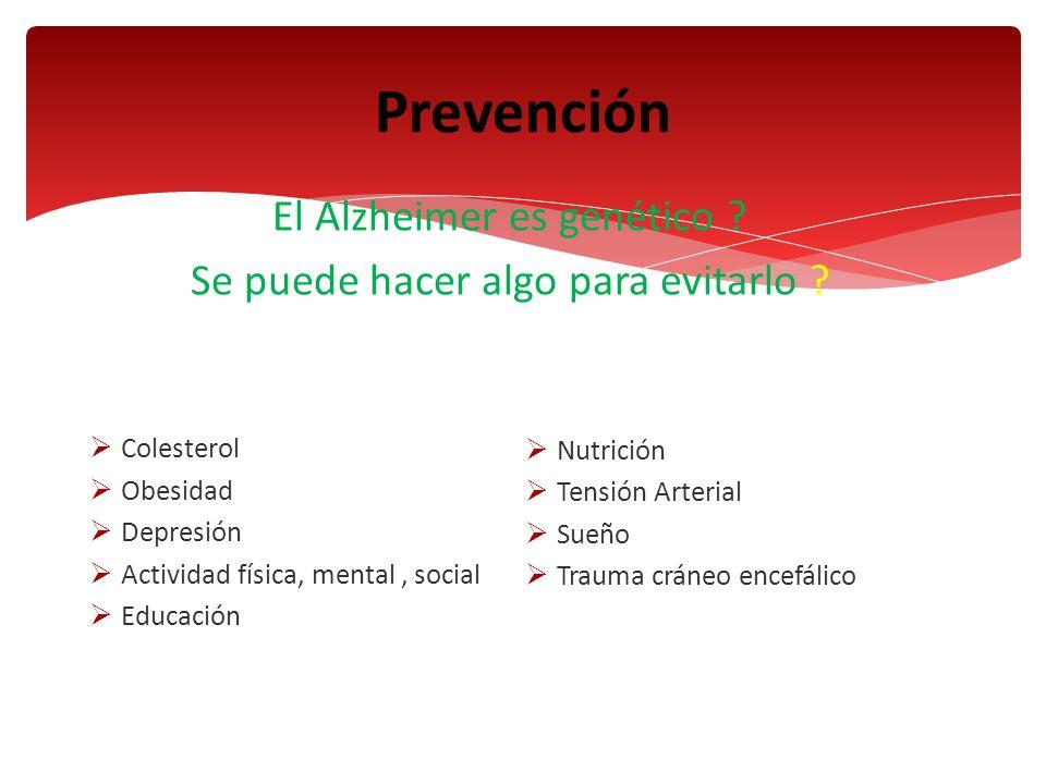 Prevención El Alzheimer es genético