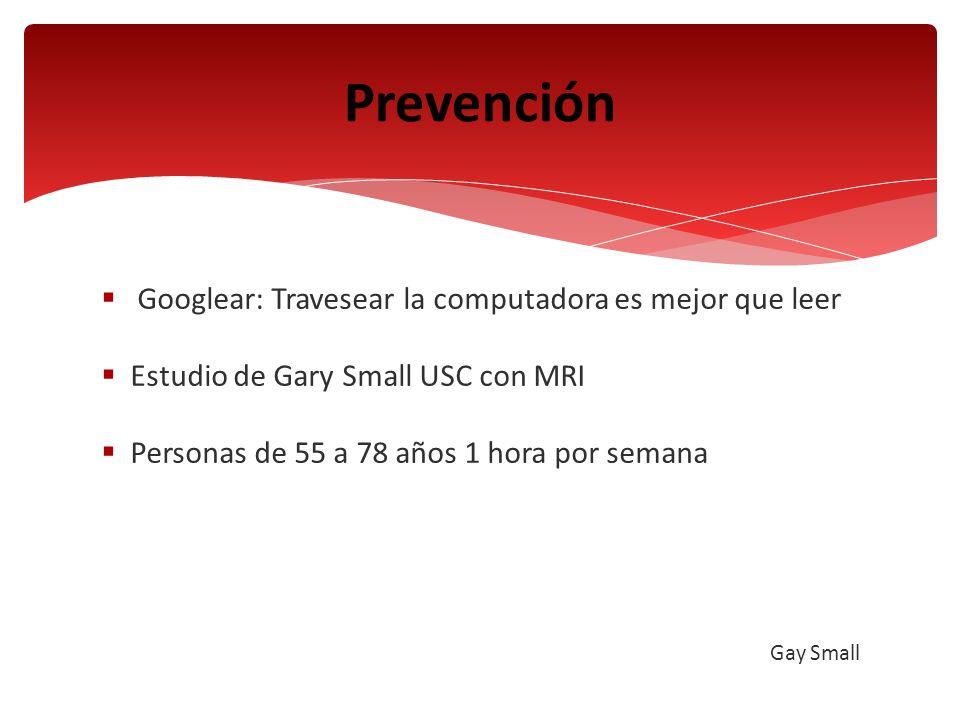 Prevención Googlear: Travesear la computadora es mejor que leer