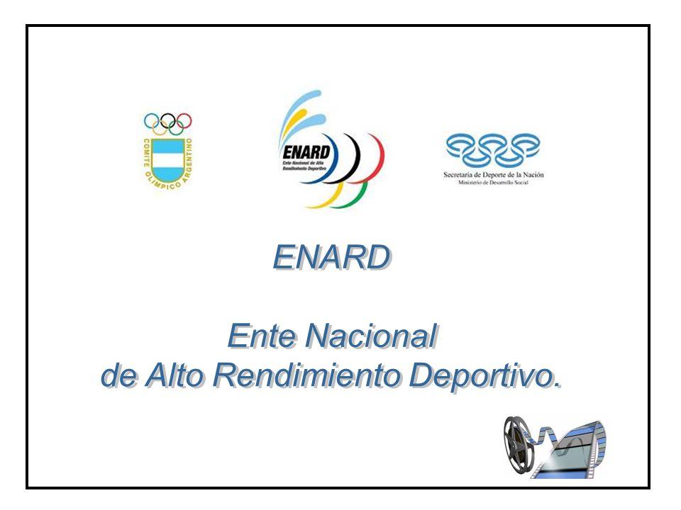 de Alto Rendimiento Deportivo.